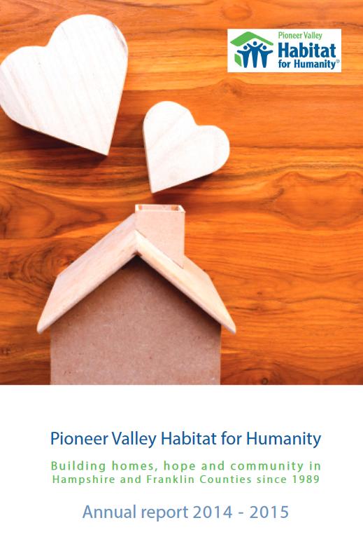 PV Habitat Annual Report 2015