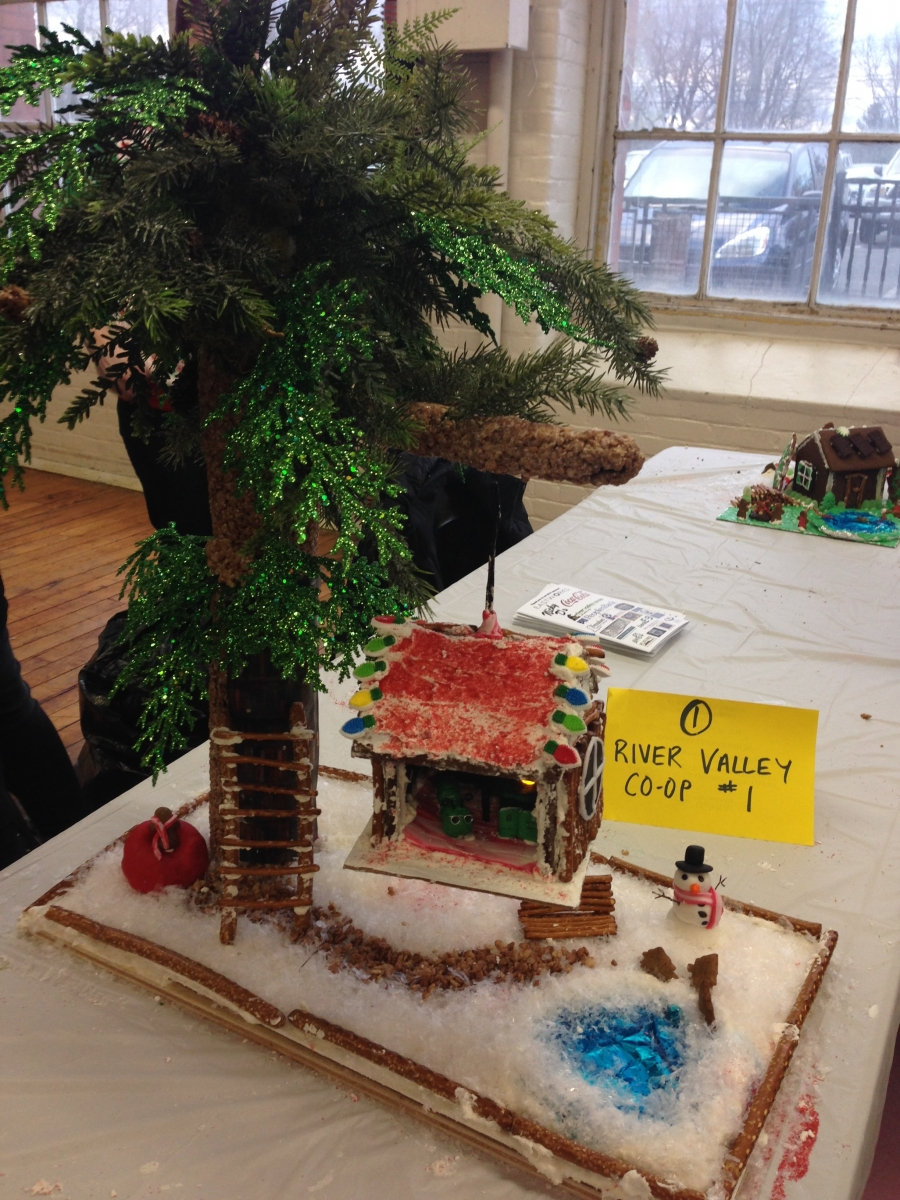 Habitat For Humanity Gingerbread House Build