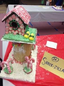 Shrek-zilla Bird house